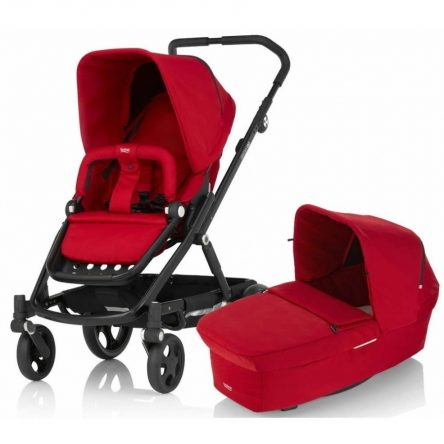 Britax Go 2v1 2017, Flame Red