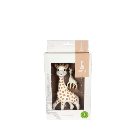 Vulli Sada hračka žirafa Sophie s kľúčenkou