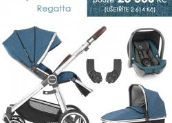 BabyStyle Oyster 3 základný balíček 4 v 1 – Regatta 2021